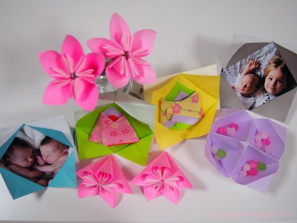 花 折り紙 桃の花 折り紙 : divulgando.net